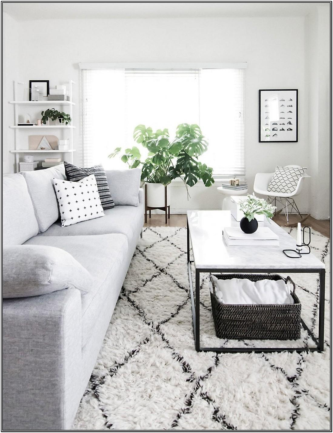 White And Gray Living Room Designs