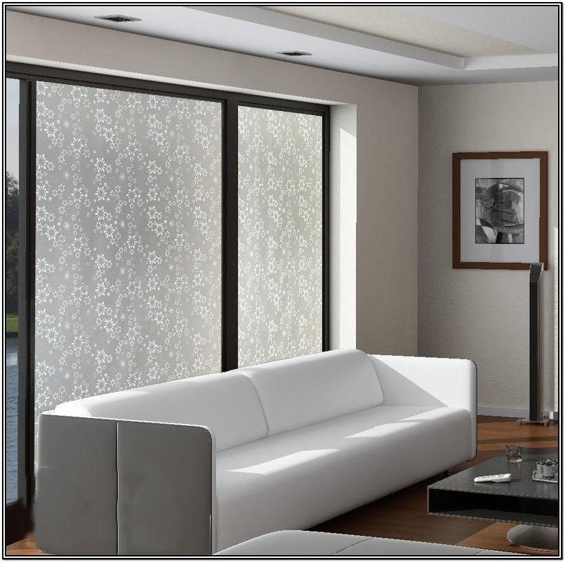 White Glass Living Room Doors