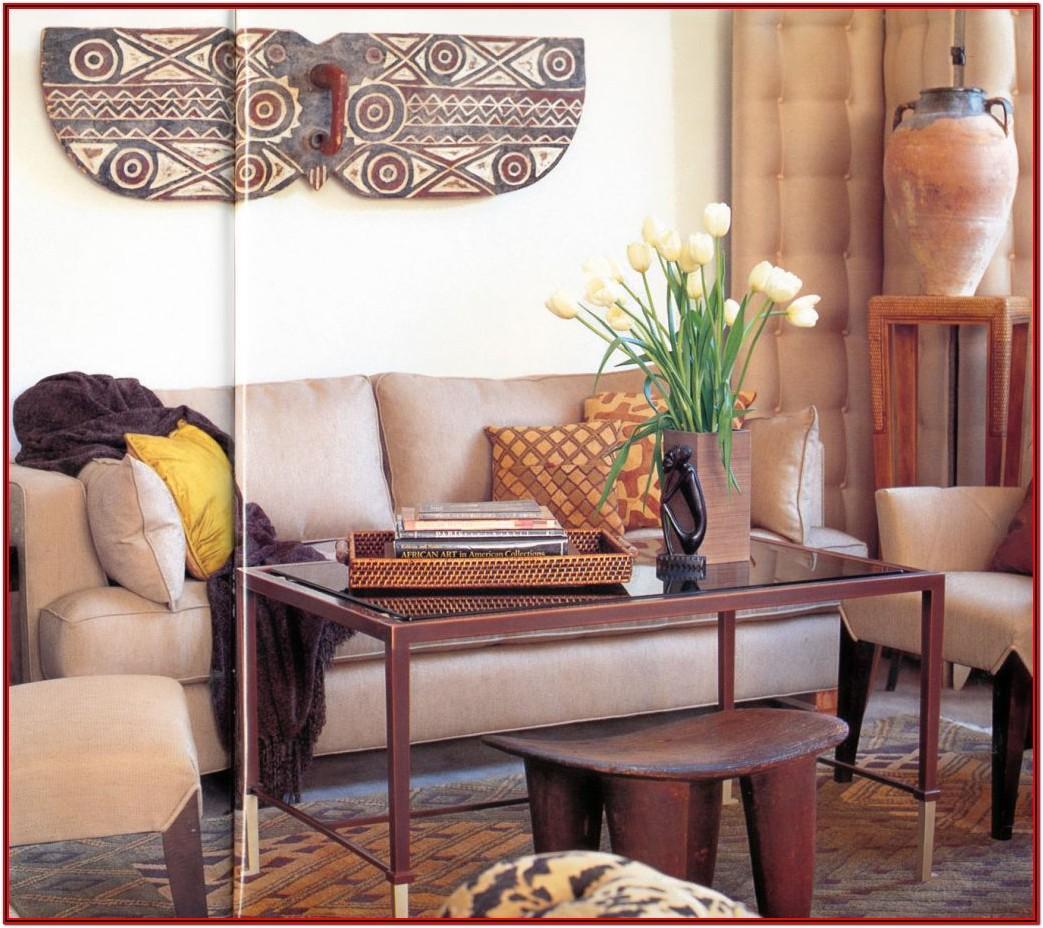 African Living Room Decor Ideas