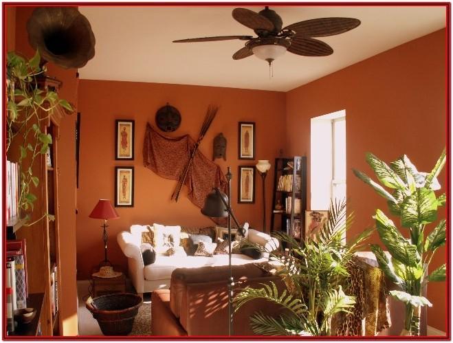 African Theme Living Room Decor