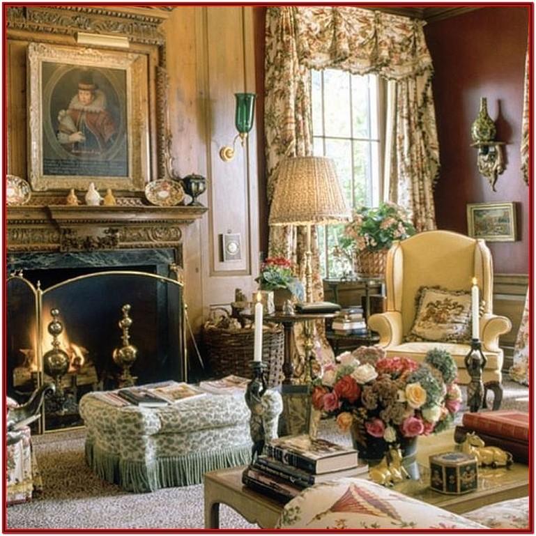 Antique Gold Living Room Accessories