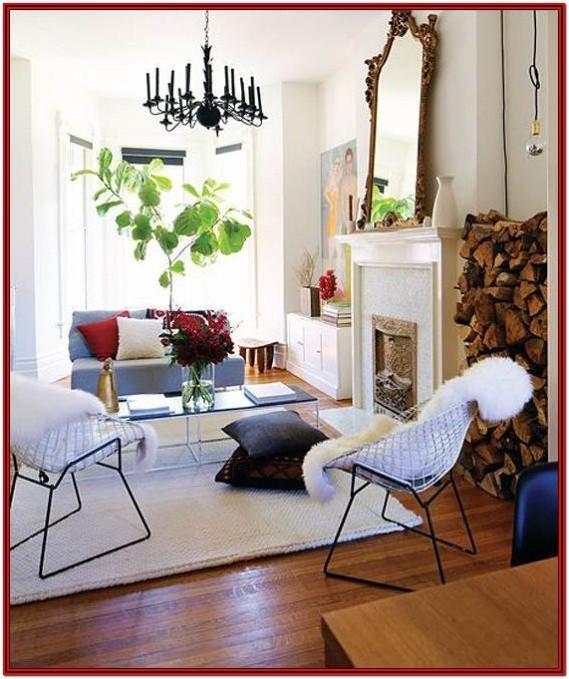 Antique Mirror Living Room Decor