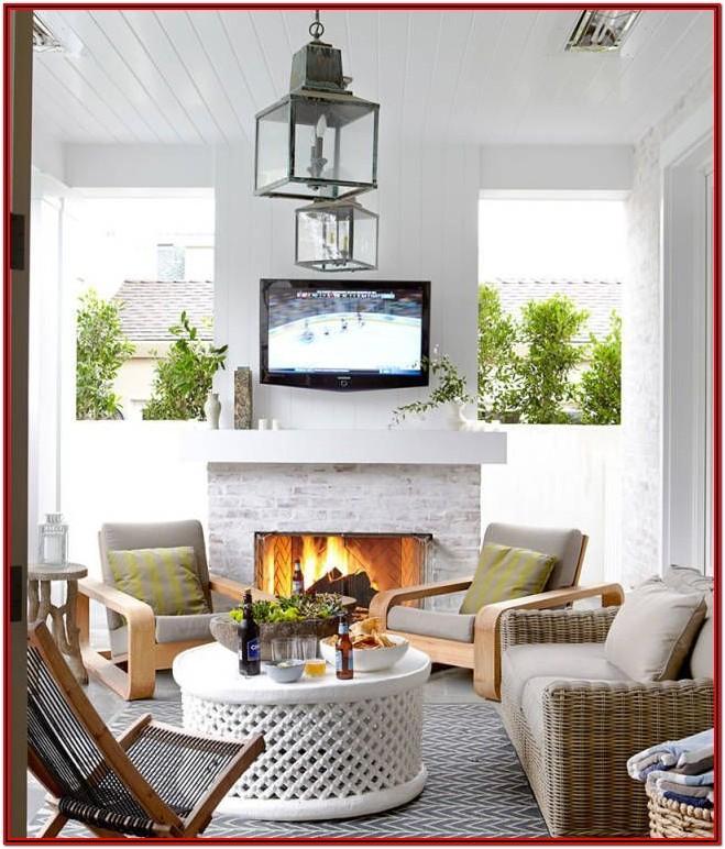 Apartment Living Room Decor Idea