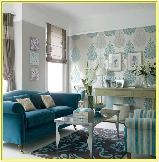 Aqua Blue Living Room Ideas