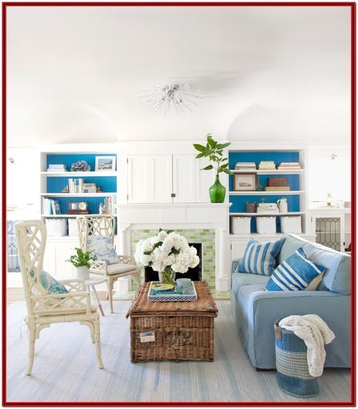 Beach Living Room Theme