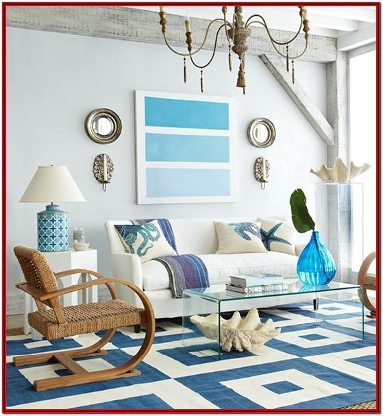 Beach Theme Living Room Decor