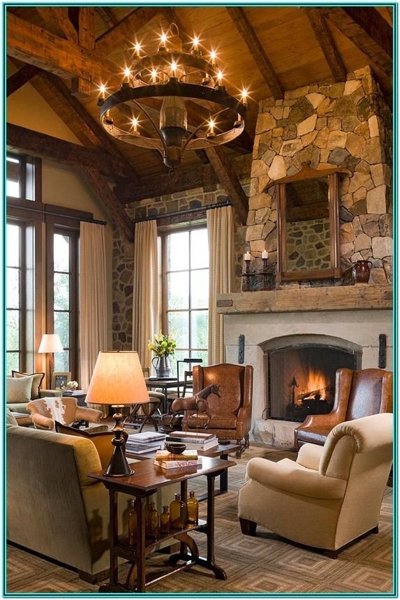 Beautiful Cozy Rustic Chic Living Room Ideas