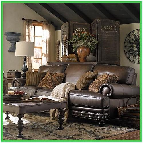 Beautiful Living Rooms With Leather Furniture