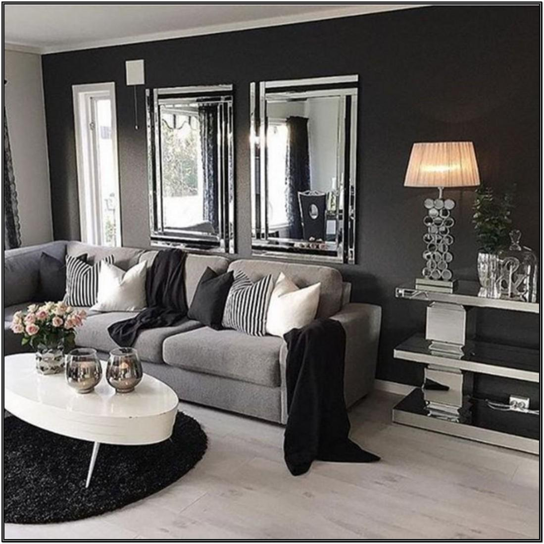 Black And Grey Living Room Furniture Ideas