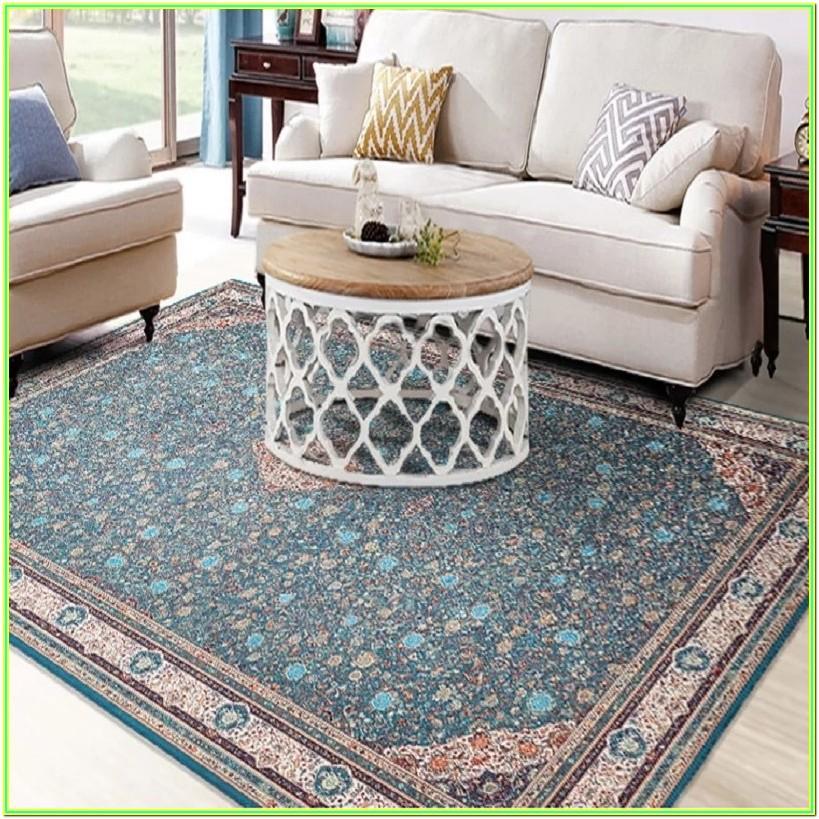 Blue Persian Rug Living Room