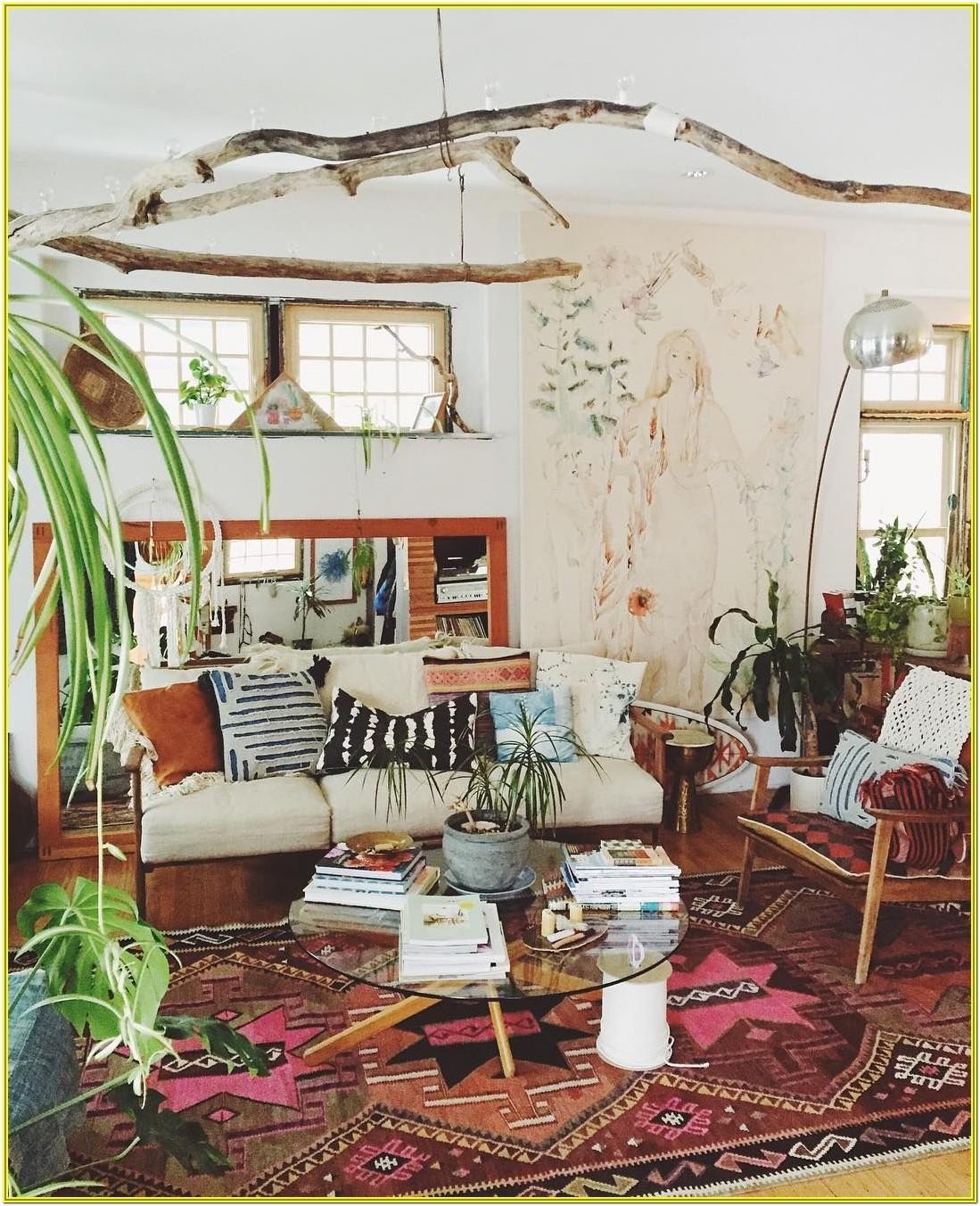 Bohemian Chic Living Room Ideas