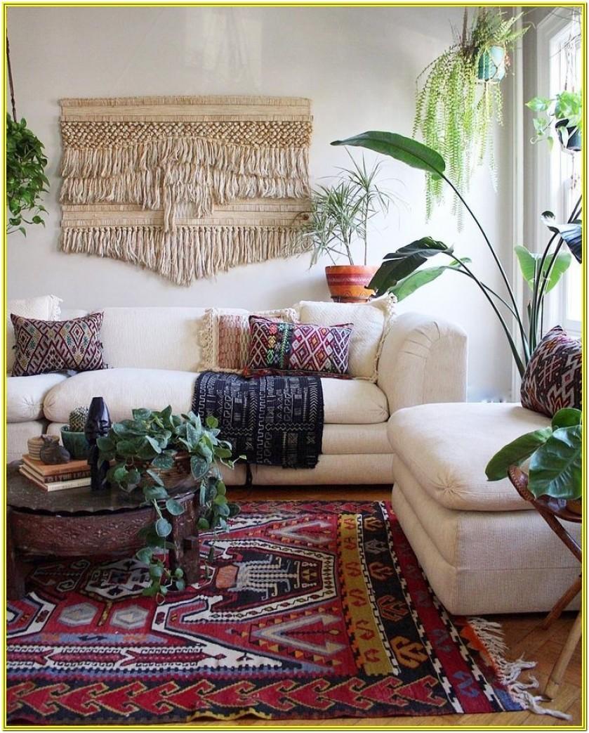 Bohemian Living Room Decor Ideas