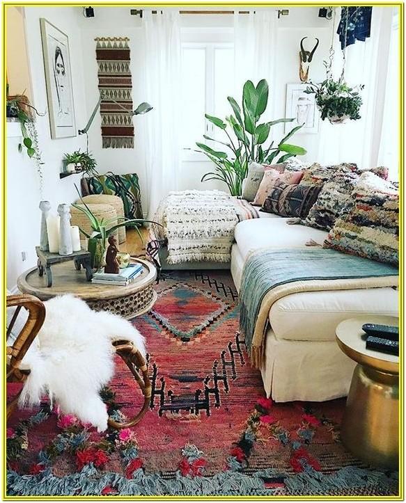 Boho Chic Living Room Design Ideas