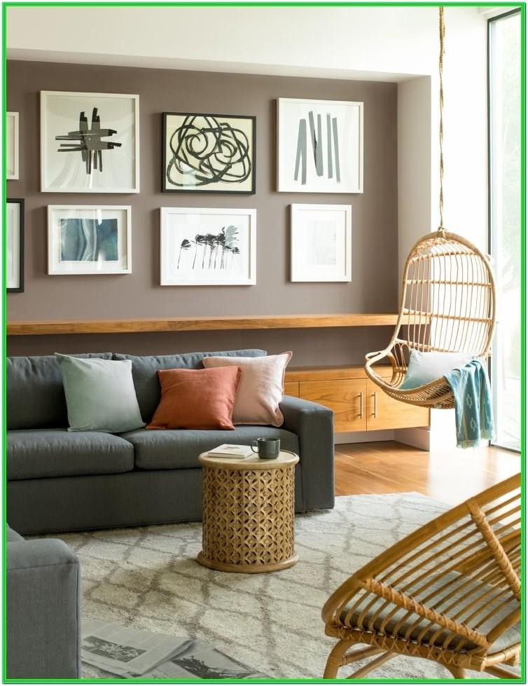 Brown Furniture Living Room Wall Color Combination