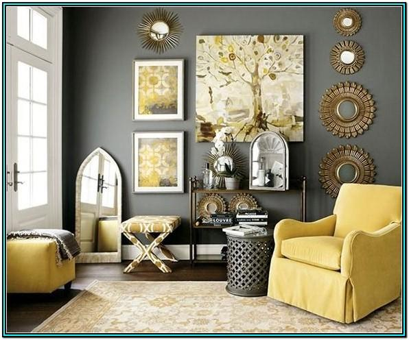 Brown Grey And Mustard Living Room Ideas