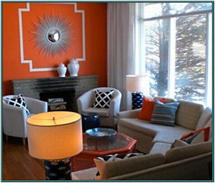 Brown Orange And Grey Living Room Ideas