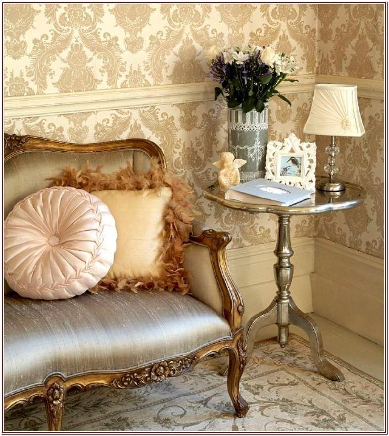 Classy Luxury Living Room Wallpaper