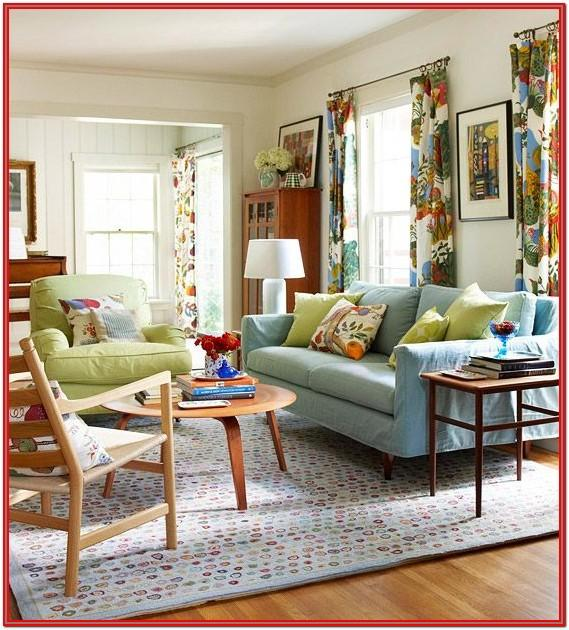 Colorful Eclectic Living Room Ideas