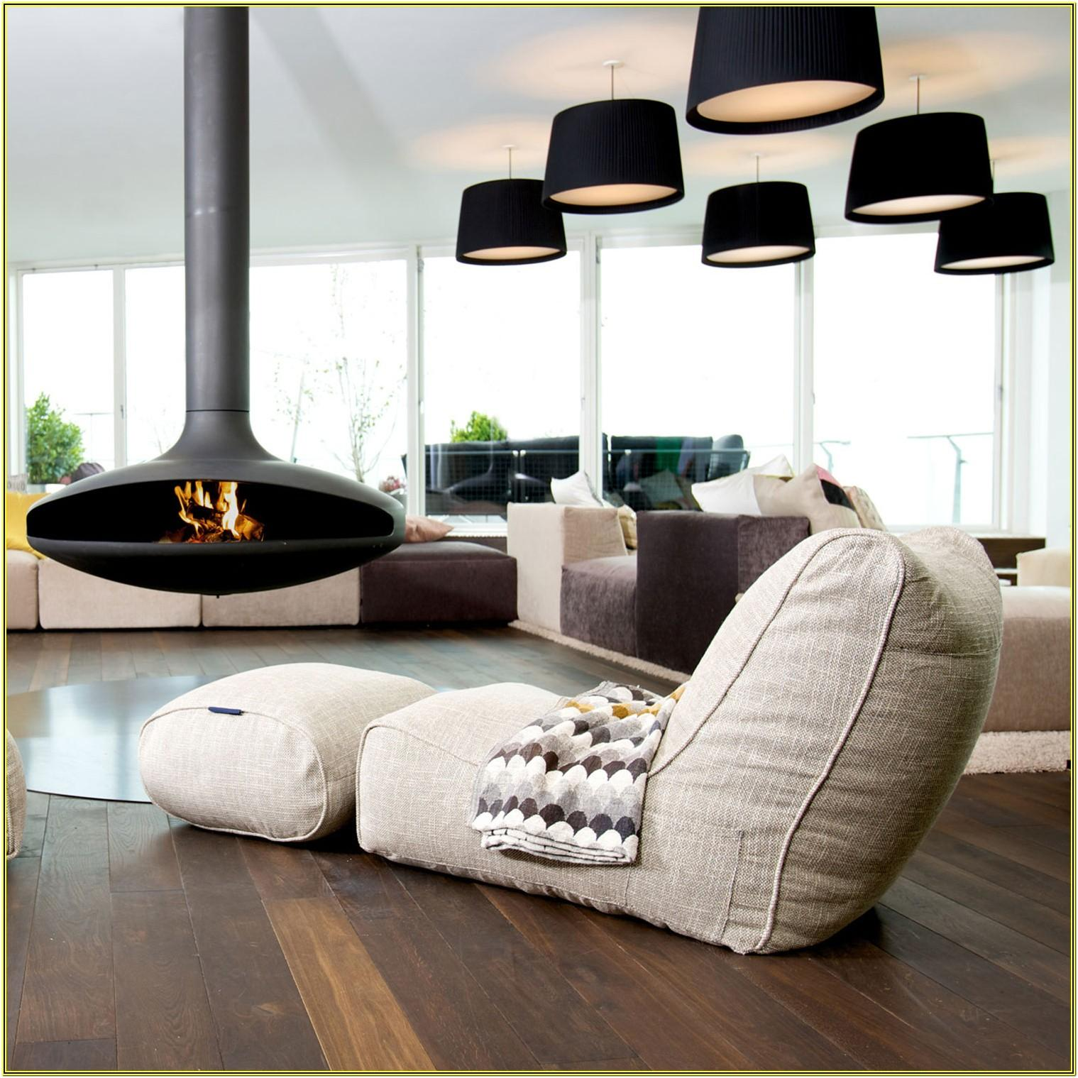 Colorful Living Room Ideas With Bean Bags
