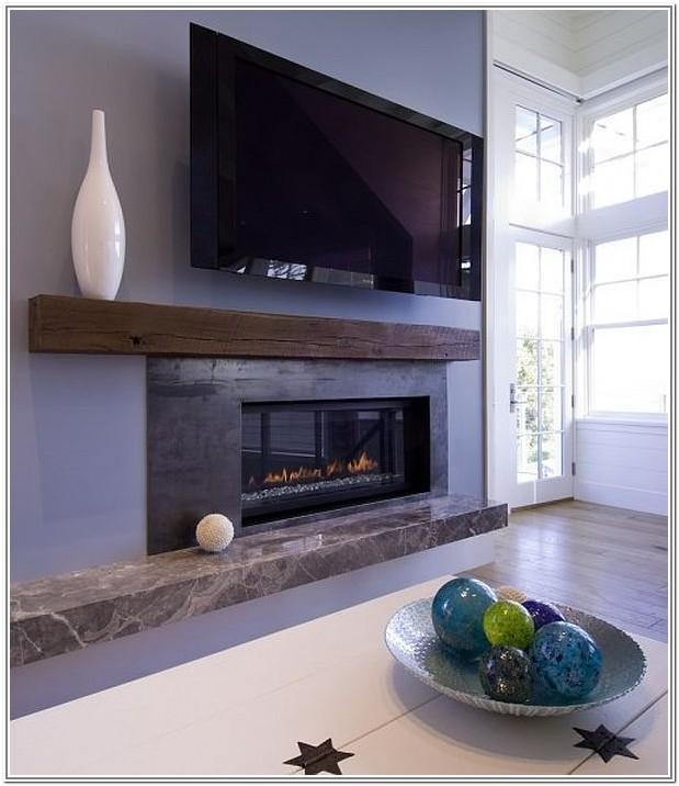 Contemporary Fireplace Living Room Design Ideas