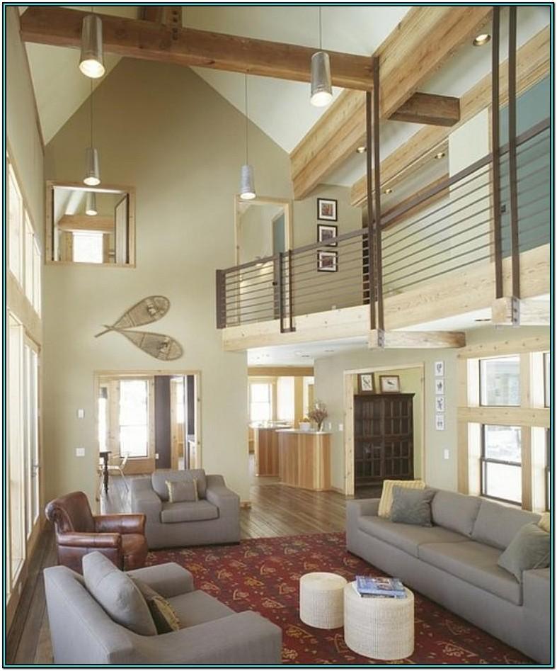Contemporary High Ceiling Living Room Ideas