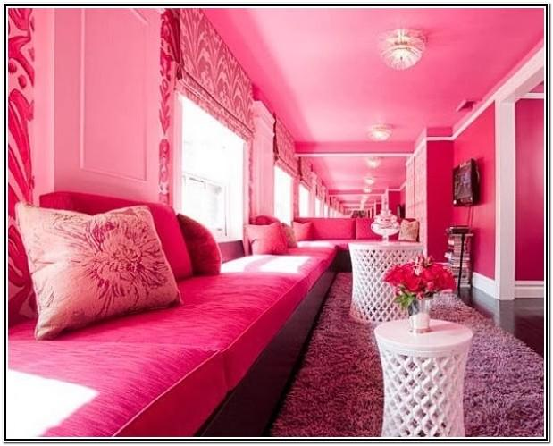 Cute Living Room Ideas Pink