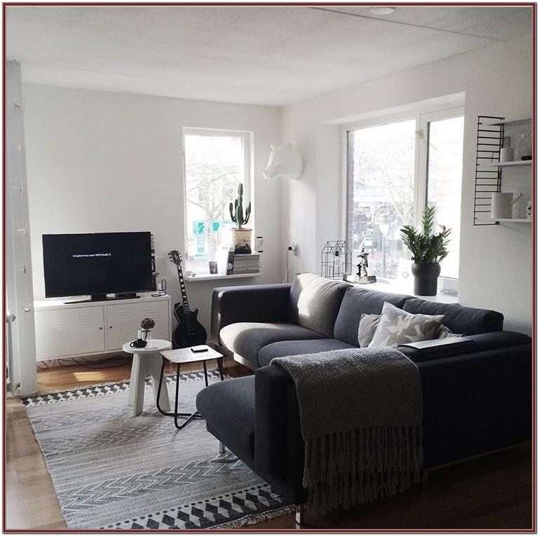Dark Gray Modern Grey Sofa Living Room