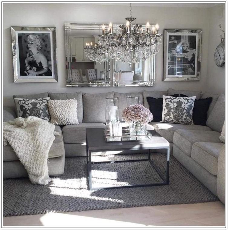 Decor Pink And Grey Living Room Ideas