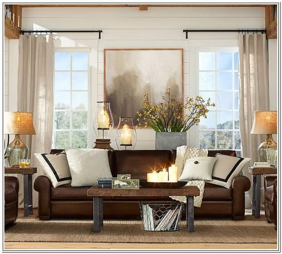 Design Light Brown Leather Sofa Living Room Ideas