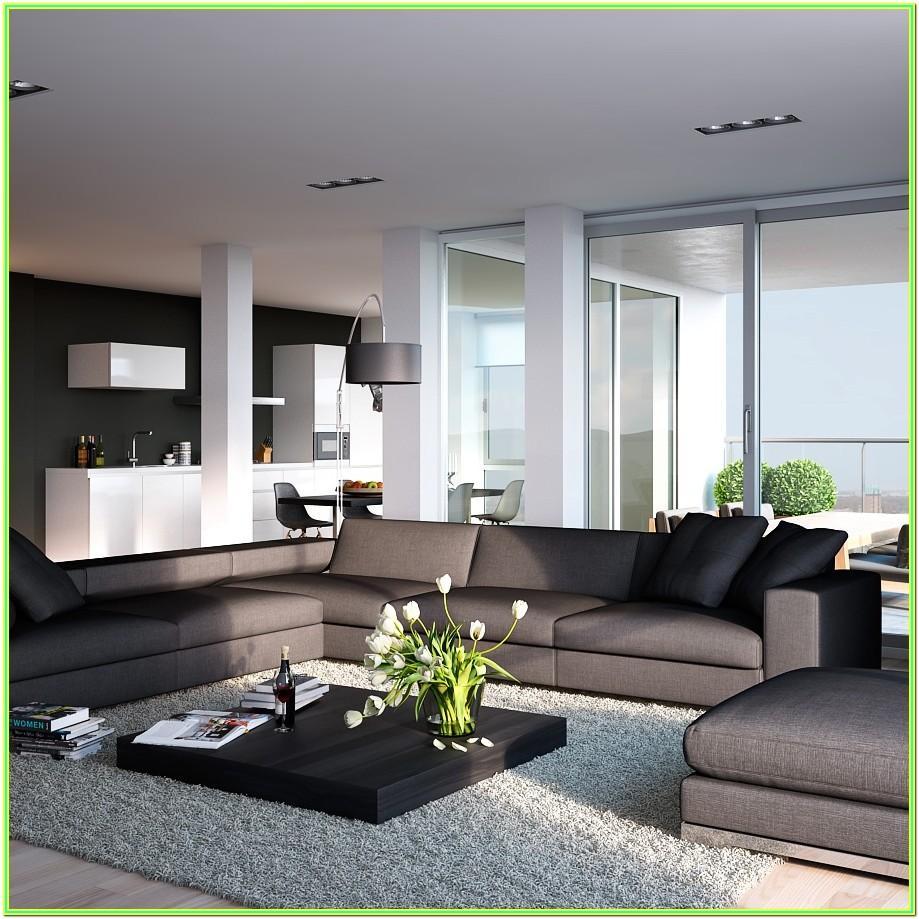 Design Modern Open Plan Living Room