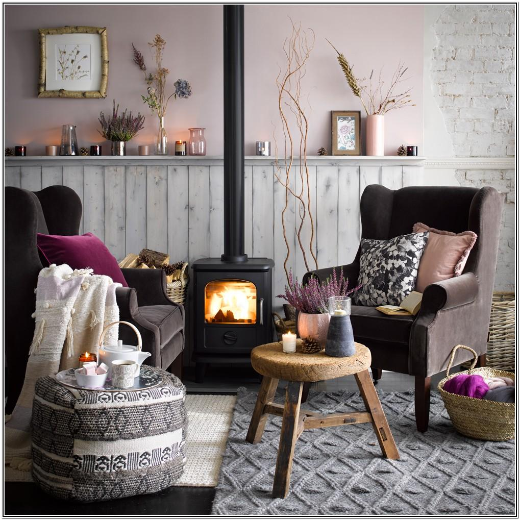 Dusky Pink And Grey Living Room Ideas