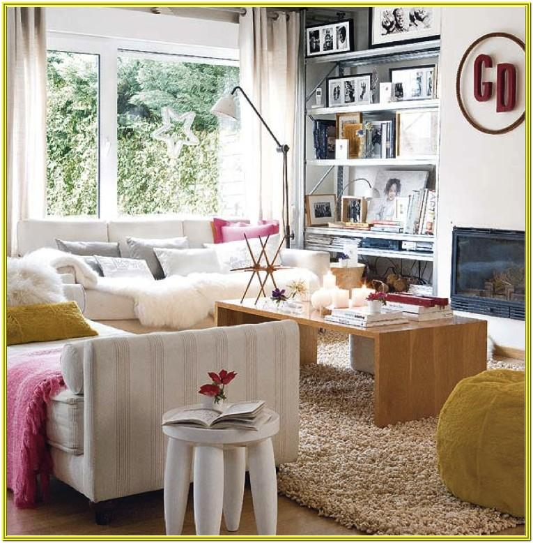 Eclectic And Artsy Living Room Ideas