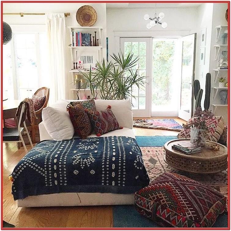 Eclectic Boho Living Room Ideas