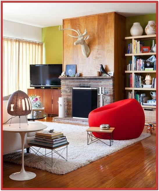 Eclectic Mid Century Living Room Ideas