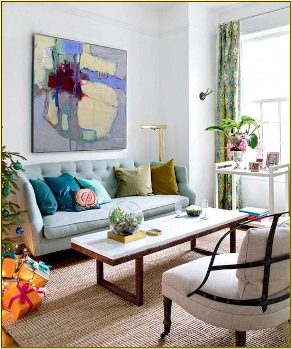 Eclectic Mid Century Modern Living Room Furniture