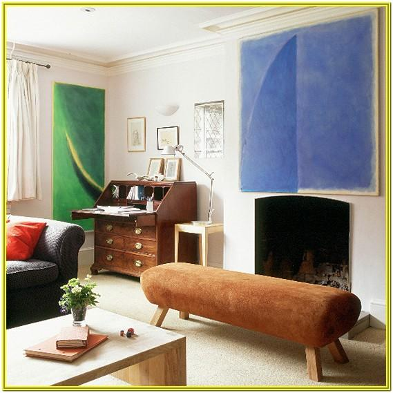 Electric And Artsy Living Room Ideas