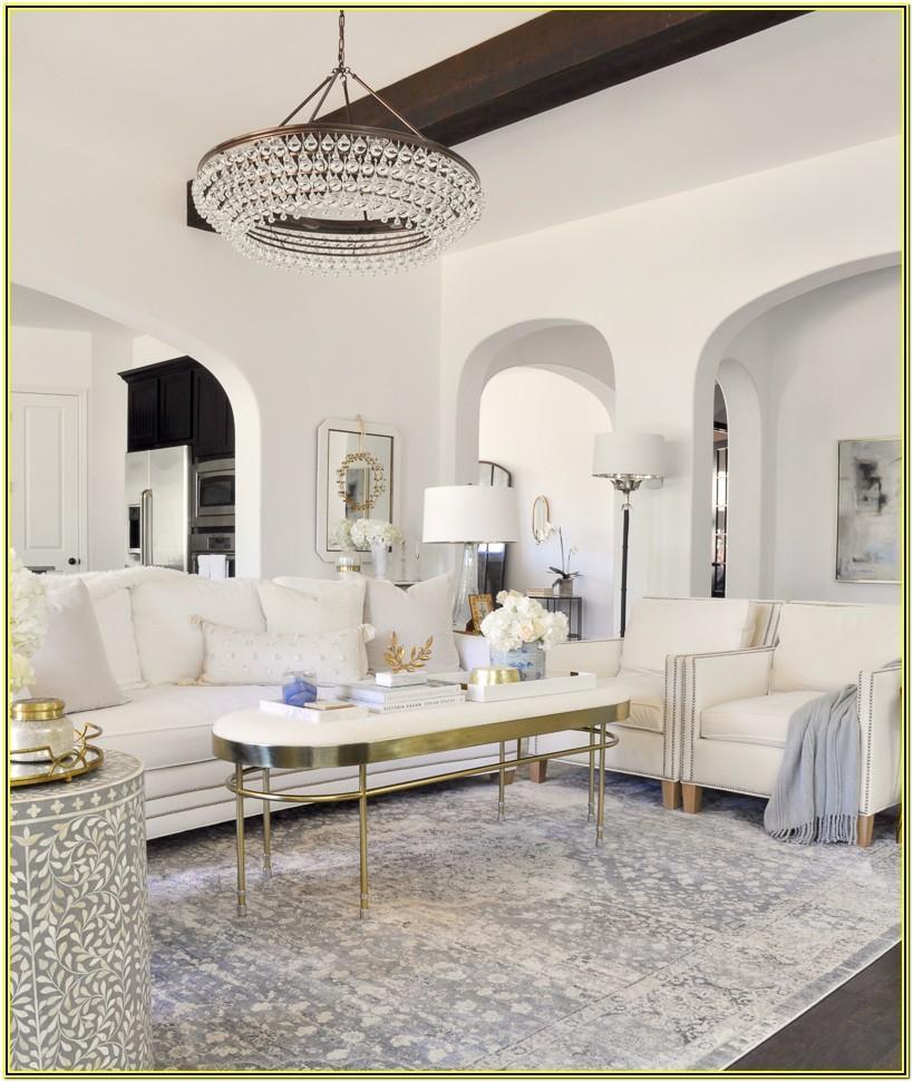 Elegant White And Grey Living Room Ideas