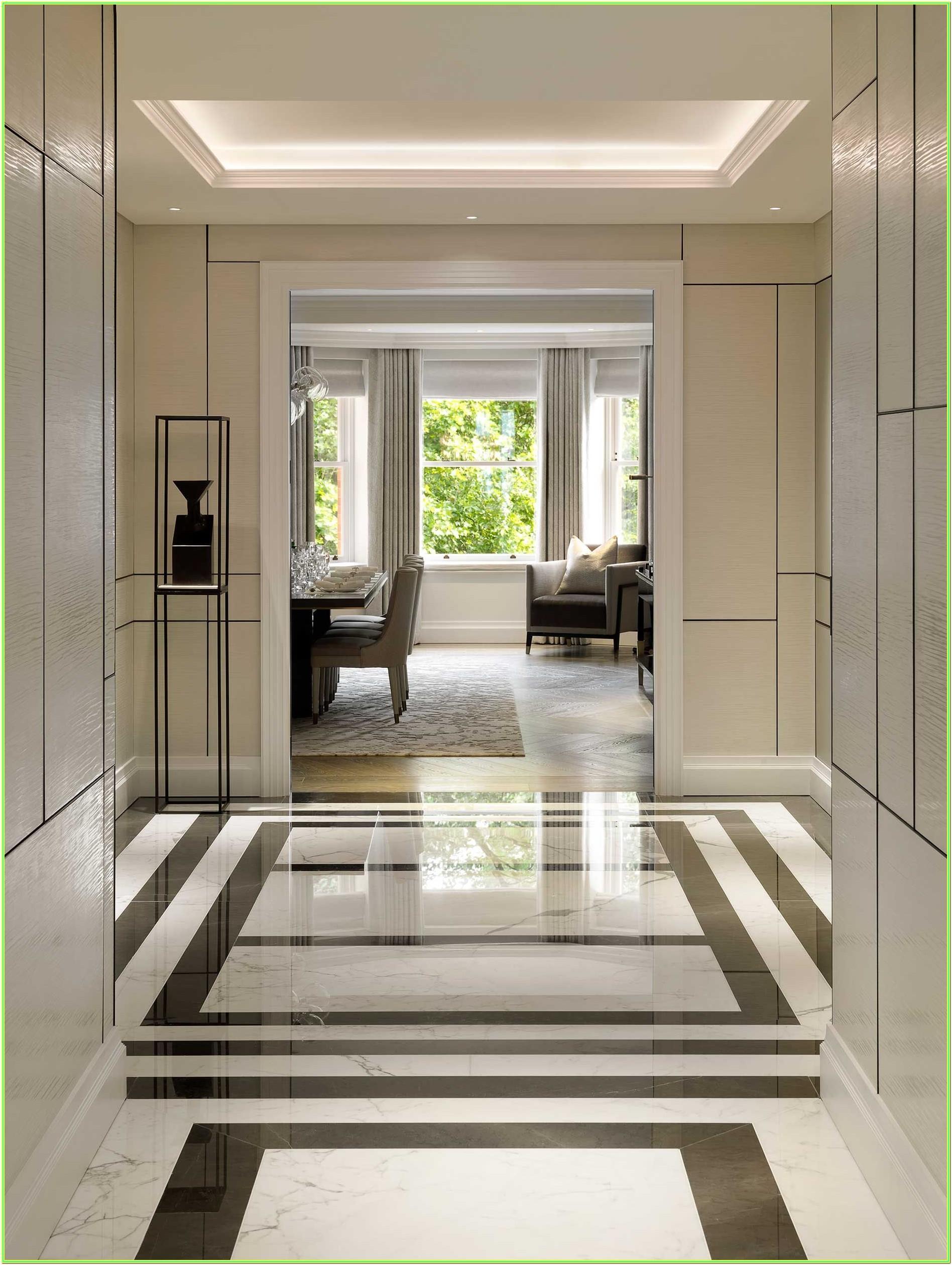 Entrance Living Room Modern Style Floor Tiles