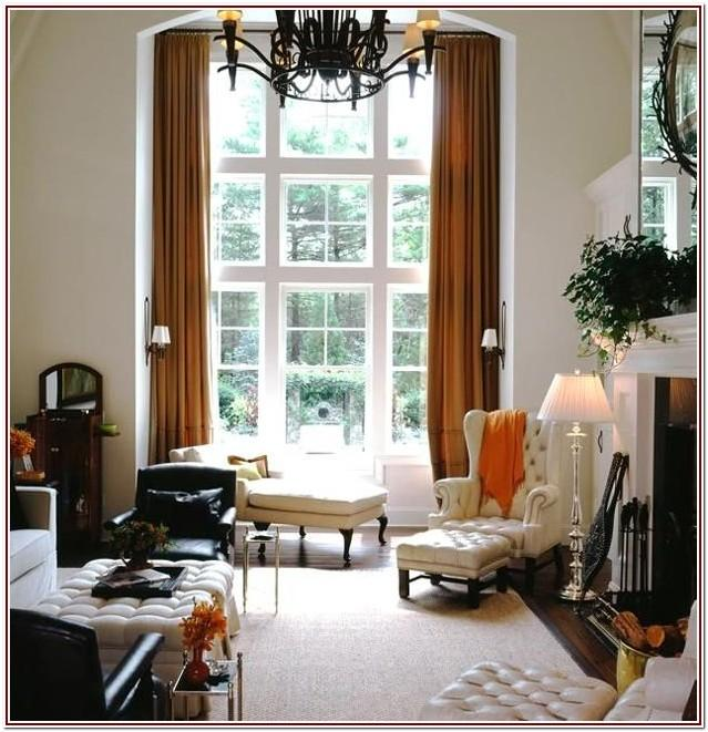 Extra Long Drapes For Living Room