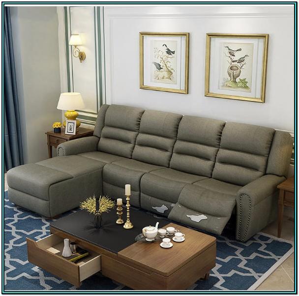 Fabric Recliner Living Room Set