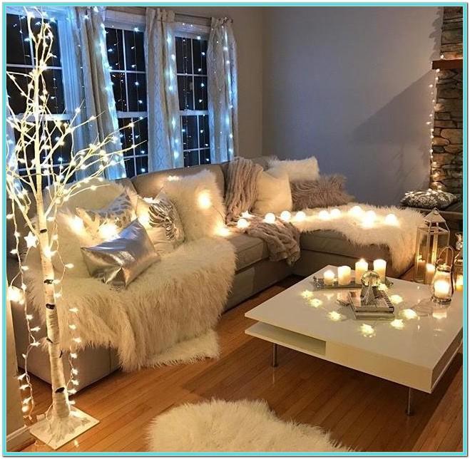 Fairy Lights Living Room Ideas