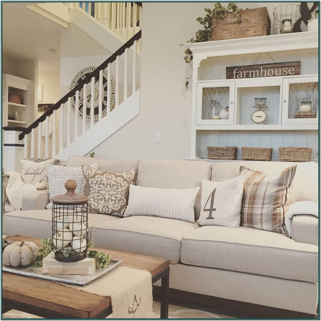 Farmhouse Country Living Room Ideas