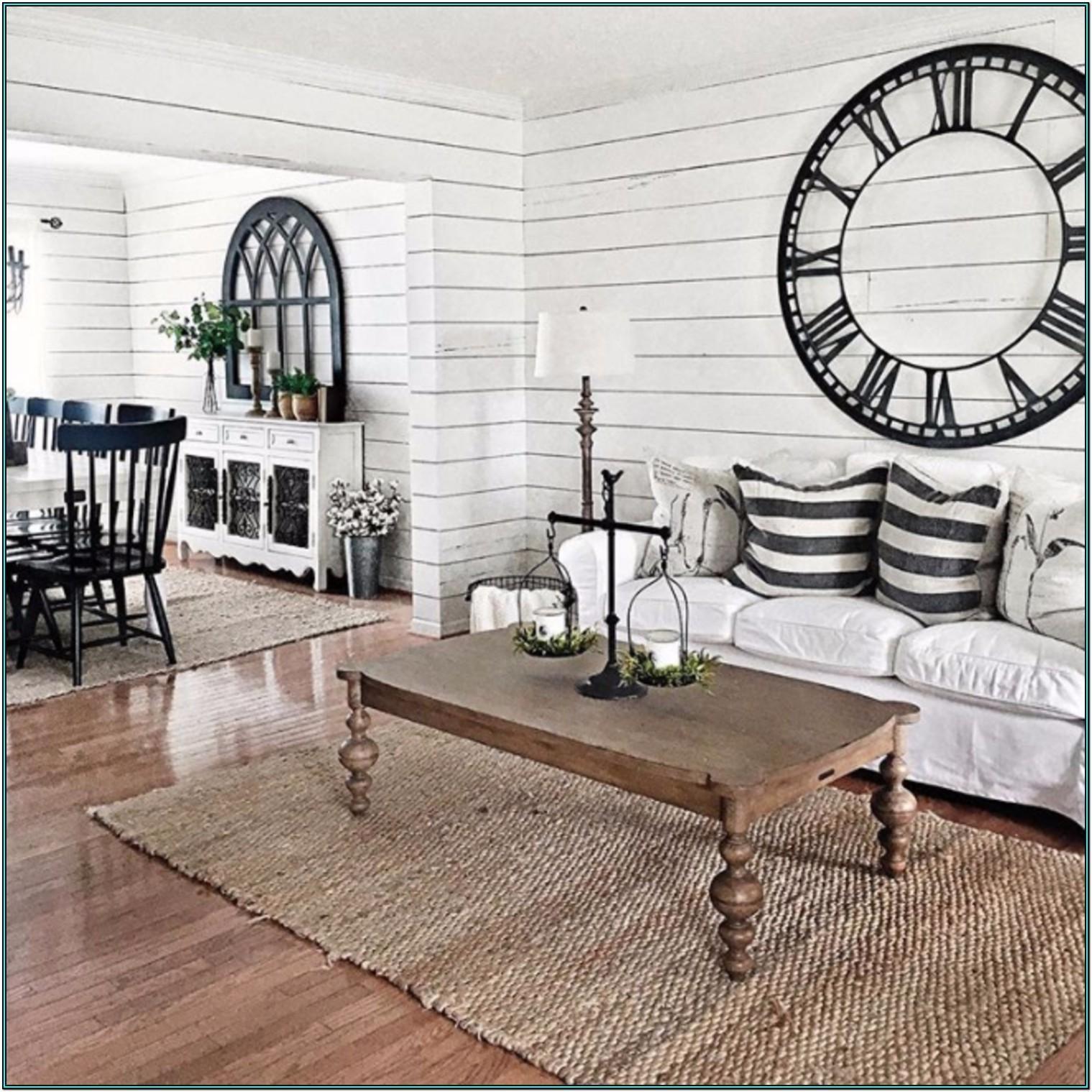 Farmhouse Country Style Living Room Ideas