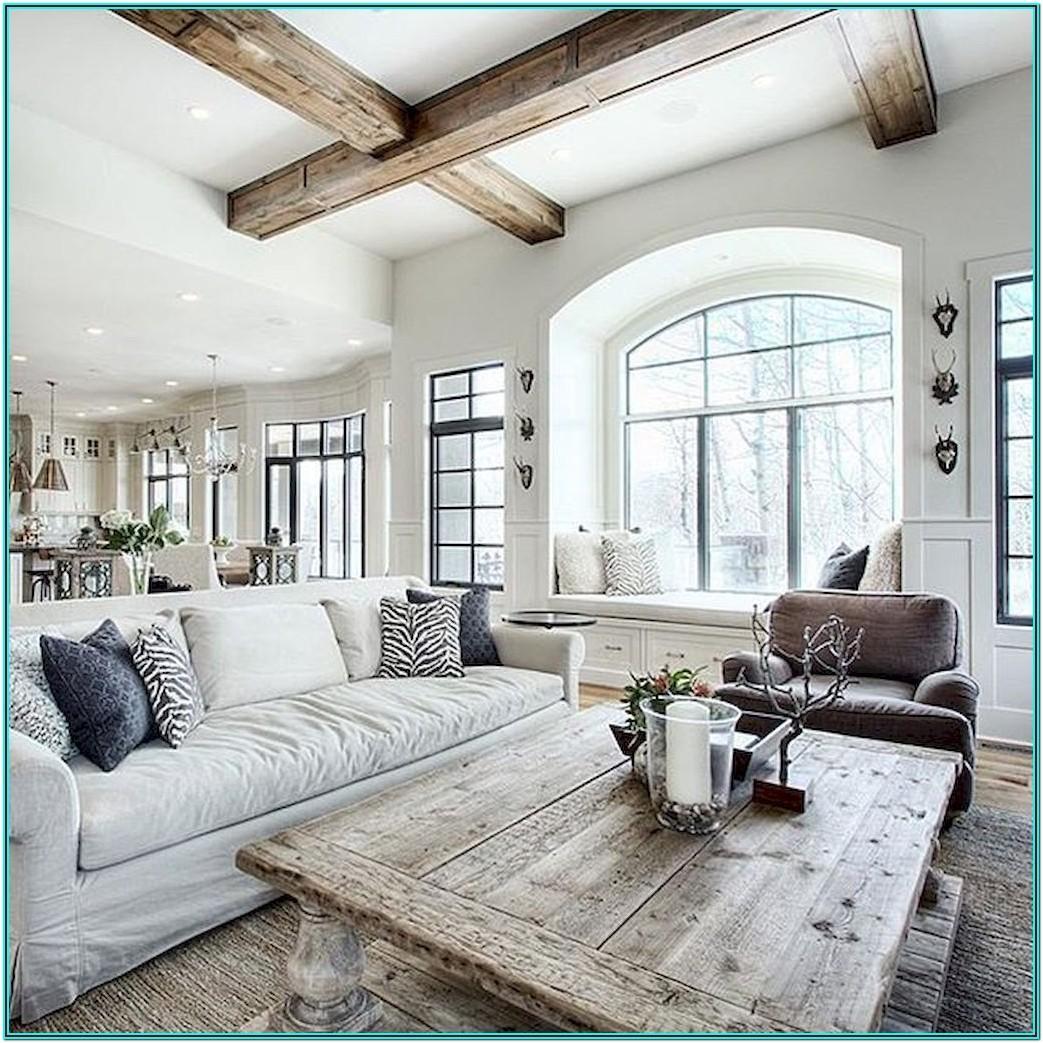 Farmhouse Modern Country Living Room Ideas