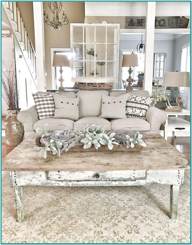Farmhouse Rustic Chic Living Room Ideas