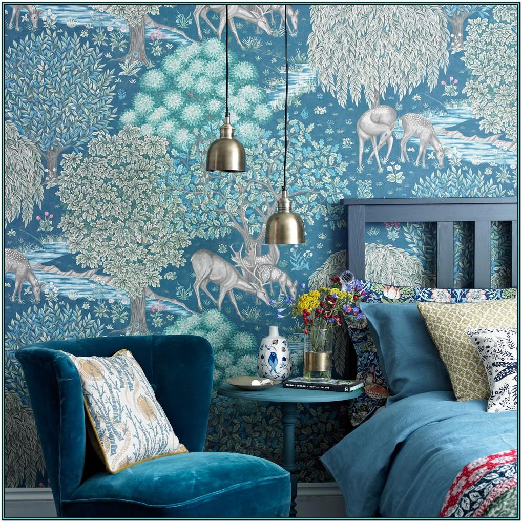 Feature Wall Living Room Wallpaper Ideas 2019
