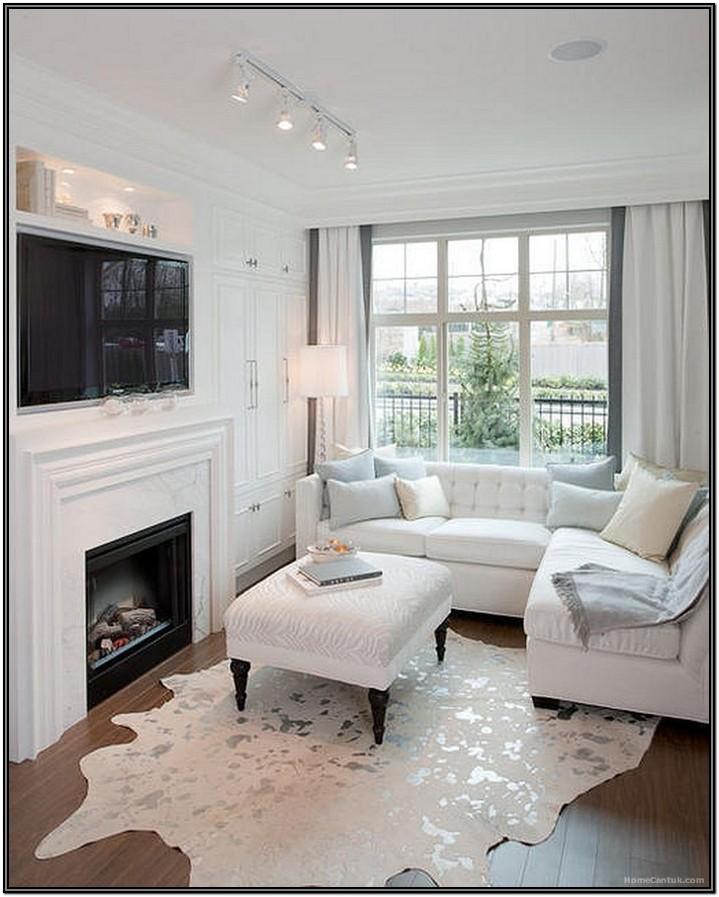 Fireplace Small Narrow Living Room Ideas