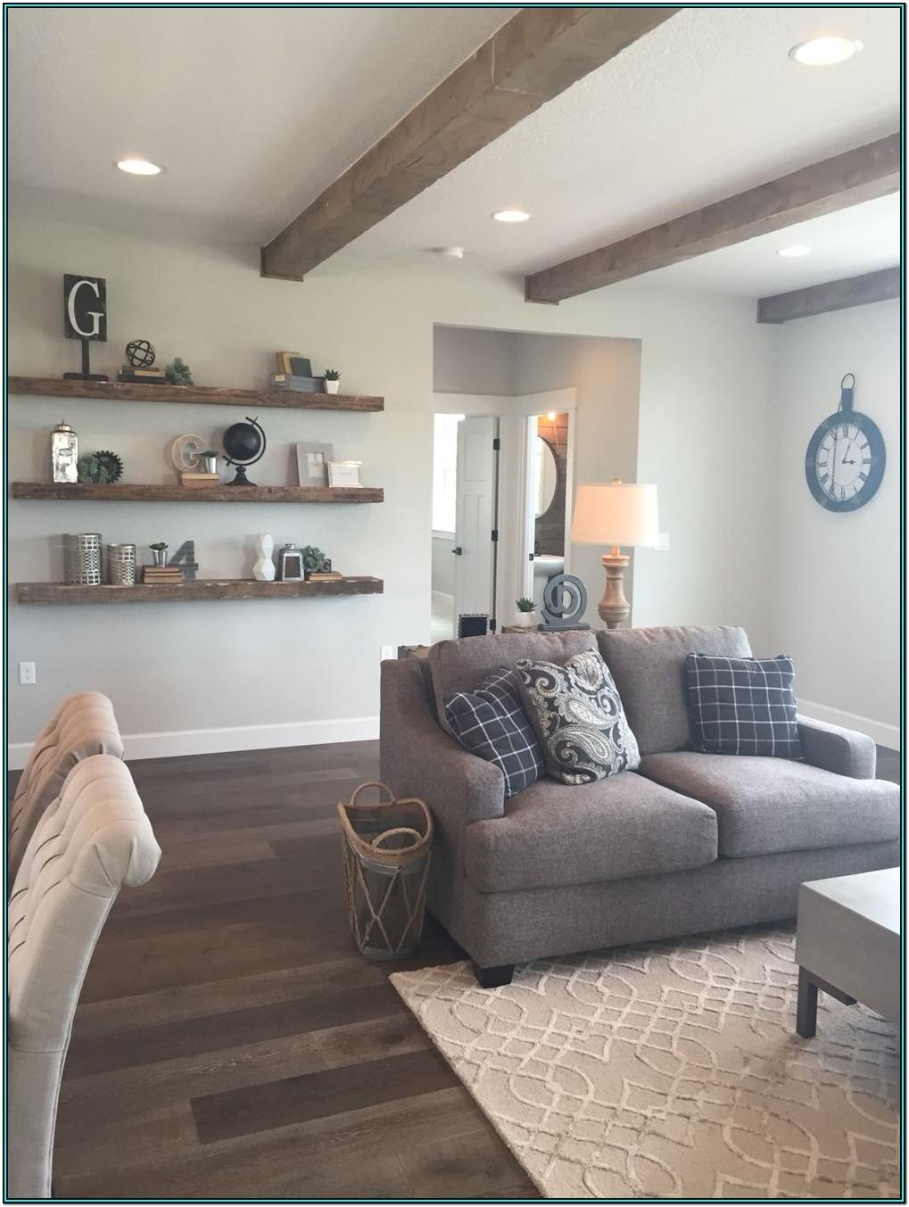 Floating Wall Shelves Living Room Ideas