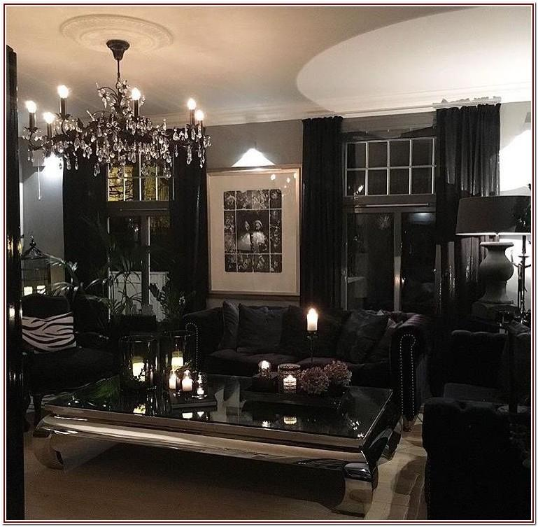 Furniture Luxury Black And White Living Room