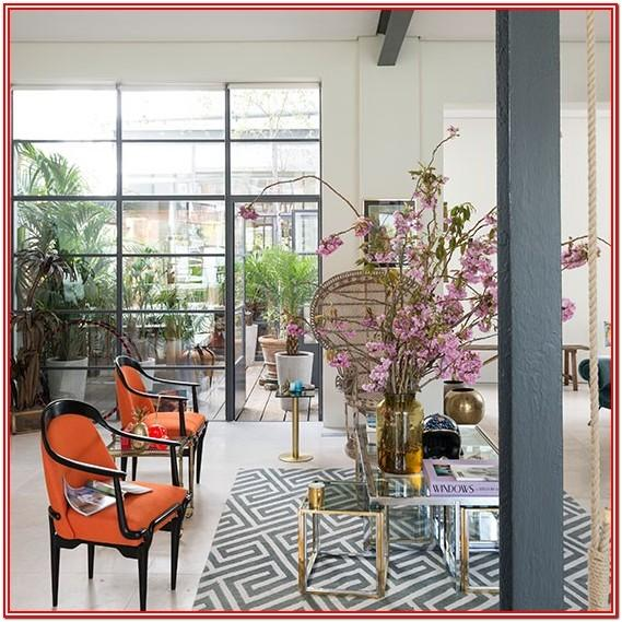 Geometric Rug Living Room Ideas
